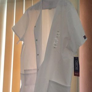 Cherokee workwear white blouse